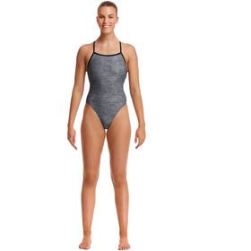 Funkita Strapped In Swimsuit Women, gris